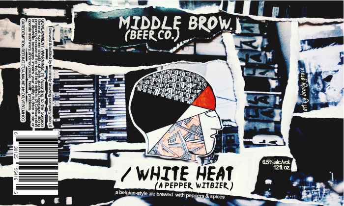 Middle Brow White Heat Pepper Witbier