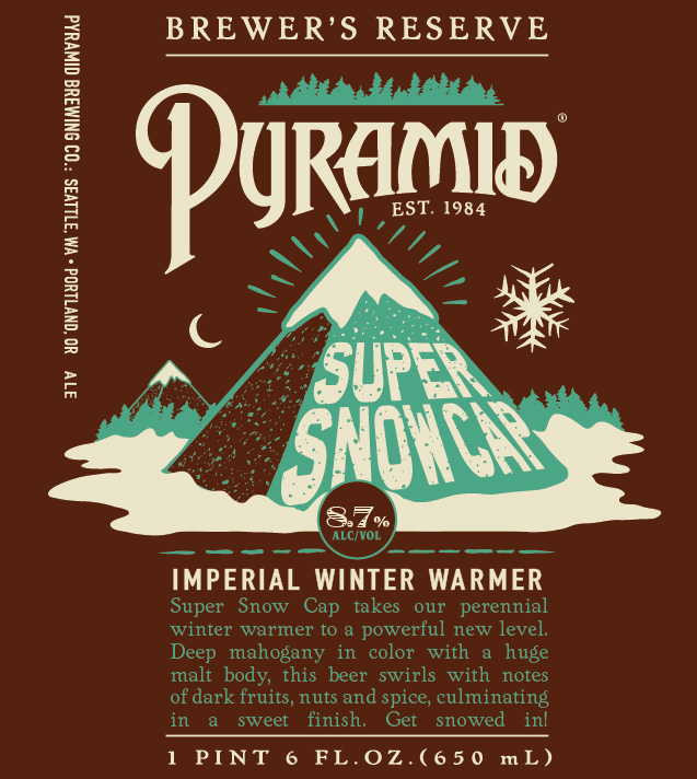 Pyramid Super Snow Cap Imperial Winter Warmer