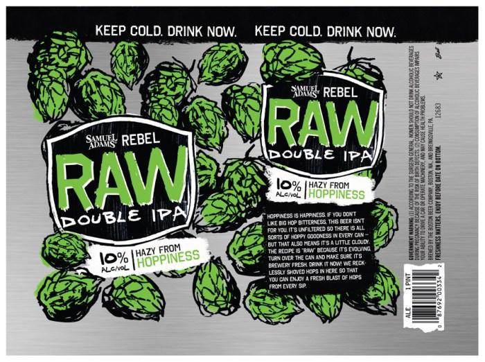 Samuel Adams Raw Double IPA