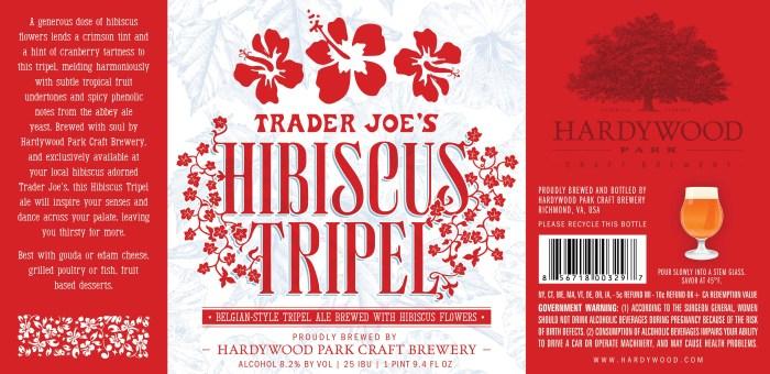 Trader Joe's (Hardywood Park) Hibiscus Tripel