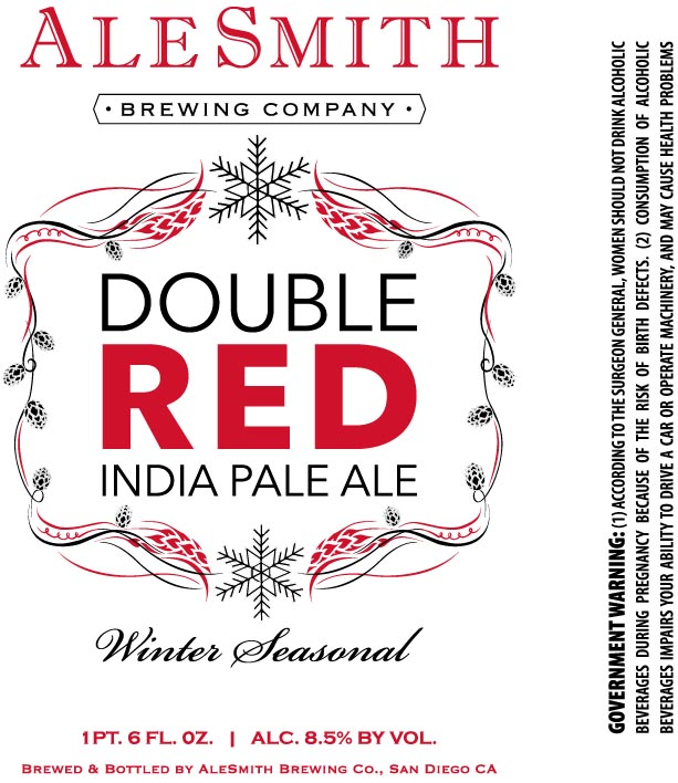 Ale Smith Double Red IPA