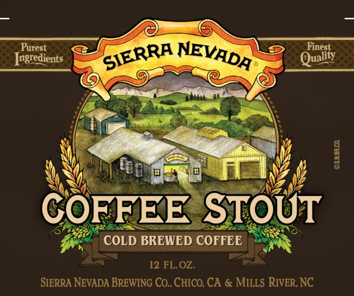 Sierra Nevada Cold Brewed Coffee Stout