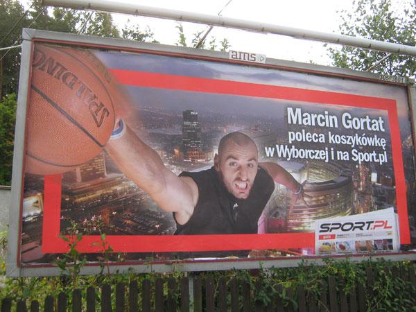Und nochmal... Dirk sehen wir nicht so oft auf Plakaten, oder?
