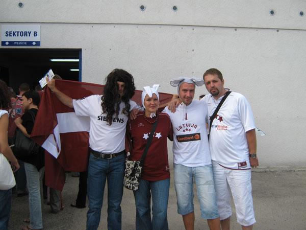 Mehr Fans aus Litauen