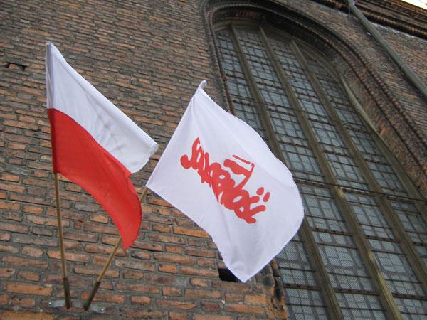 """Stadtrundgang Gdansk (Danzig): Die """"Kirche der Solidarnosc"""", Kosciol Sw. Brygidy"""