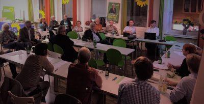 Mitgliederversammlung am 7.9.2017, Bild: Bündnis 90/Die Grünen Braunschweig