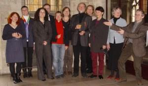 Richard mit Grünen WeggefährtInnen