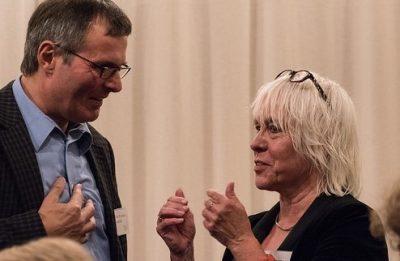Prof. Landrath und Juliane Krause, Bild: Bündnis 90/Die Grünen Braunschweig