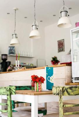 Café Kaffeeklatsch, Inh. Beate Malek, Hauptstraße, Meinerzhagen. - © Foto: Stefanie Schildchen
