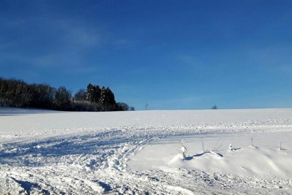 Meinerzhagen, Sauerland, Schneelandschaft