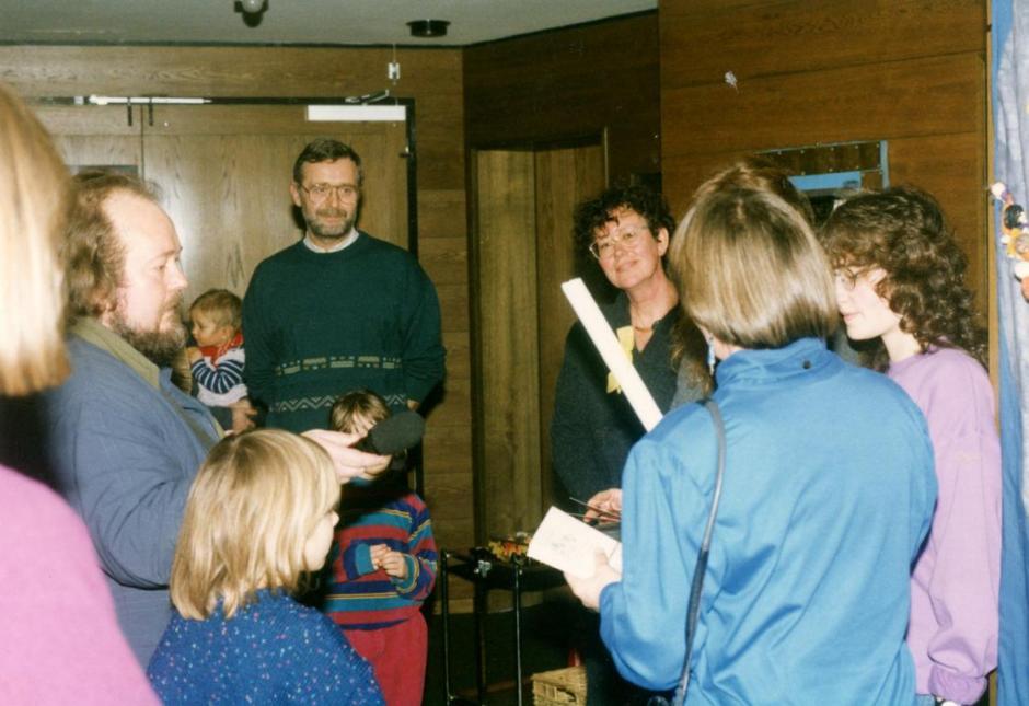 Weltladen 25 Jahre - Anfang in der Stadtbücherei