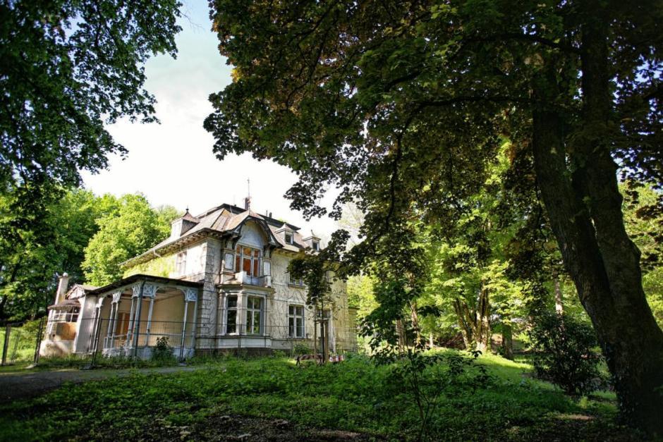 Villa Schmiemicke, Volkspark im Zentrum, Meinerzhagen © 2017 Foto: Stefanie Schildchen