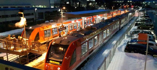 Zusätzliche Züge in der Silvesternacht