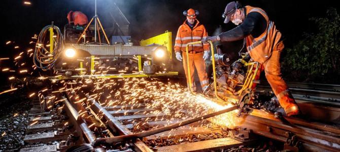 Zeitweise Gleissperrungen – Züge fallen aus