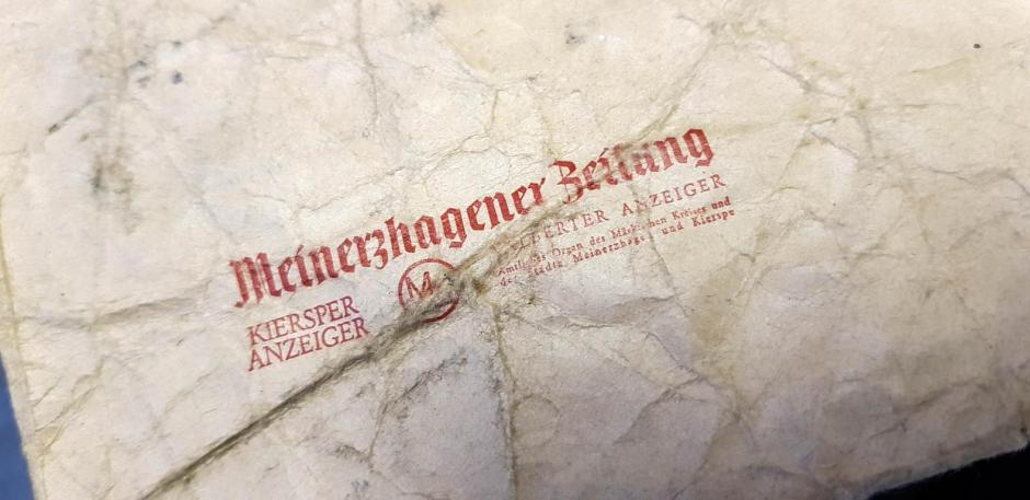 Meinerzhagener Zeitung, Druckmuseum, Bergneustadt © 2018 Foto: Stefanie Schildchen