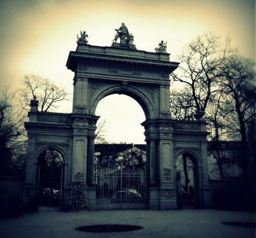 Tor zum Bürgerpark sw