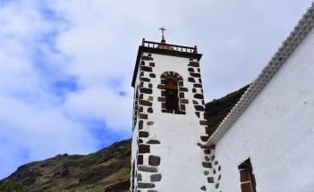 Kirche Tazacorte von der Seite - Kopie