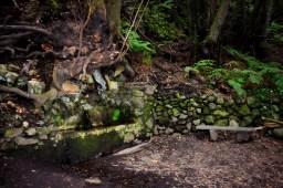 Rast am Brunnen