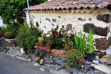 Vorgarten auf spanisch