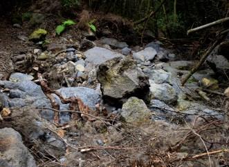 Steine durcheinander
