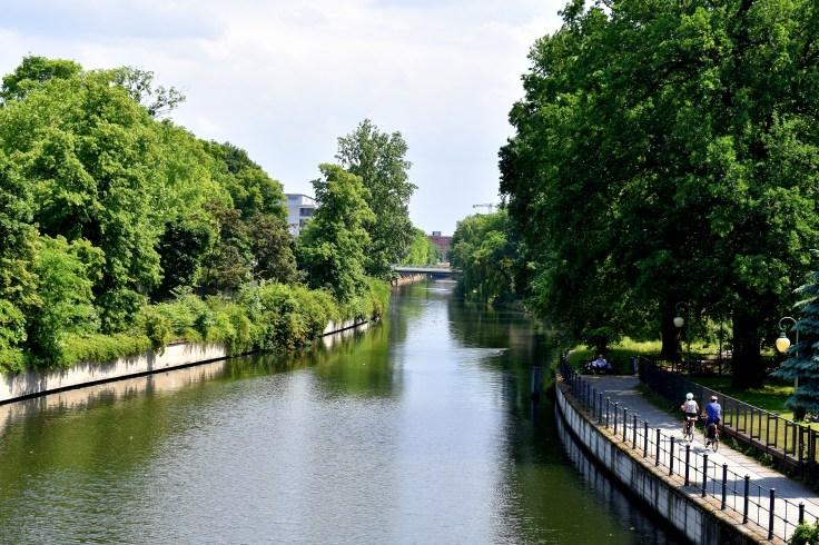 Blick von der Zoobrücke