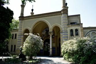 Eingang Zoohalle