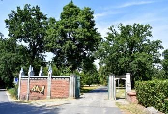 Eingang Schlosspark Babelsberg