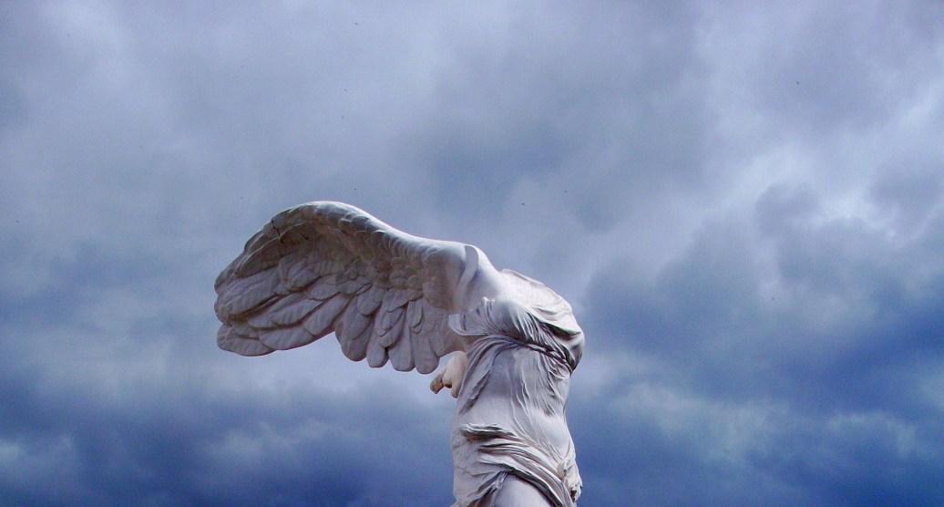 gefallener Engel Skulptur Teneriffa