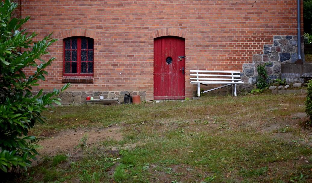 Alte rote Tür - Kopie