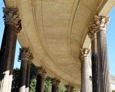 Säulengang Decke