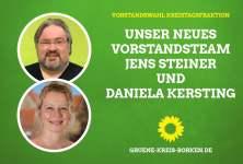 Grüne wählen Vorstand für die Kreistagsfraktion