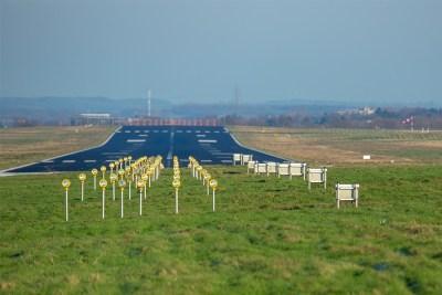 Ausbauplänen des Flughafens Dortmund