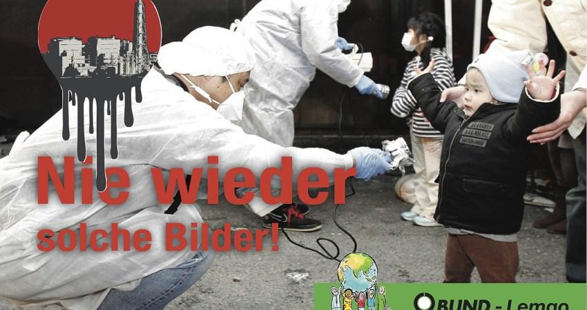 Nie wieder solche Bilder - Nuklear-Kontaminationsmessung bei Kind