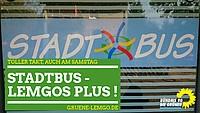 "Plakat ""Stadtbus - Lemgos Plus!"""