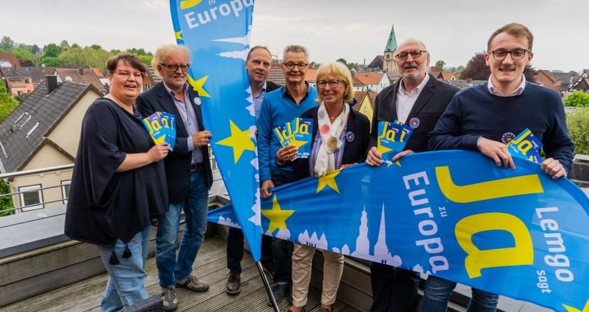 Lemgo sagt Ja zu Europa - Gruppenbild