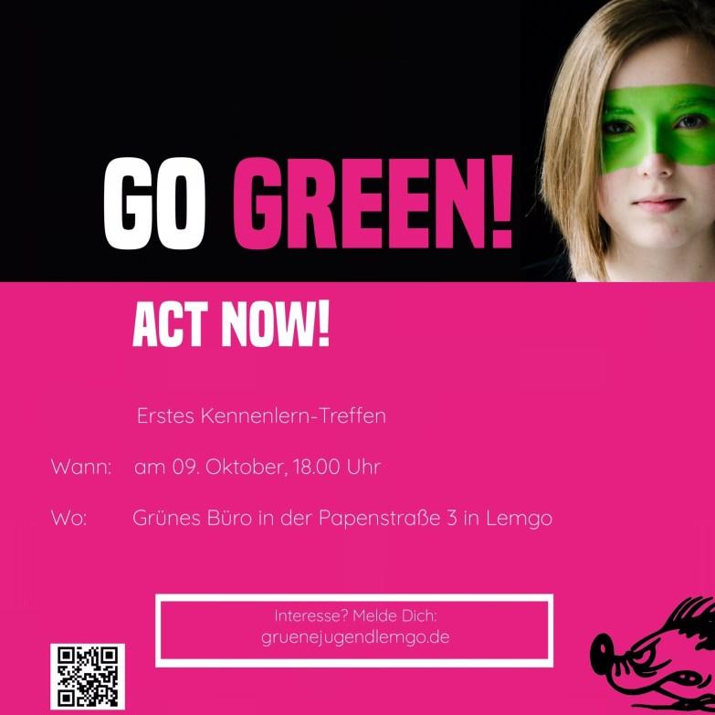 Grüne Jugend Lemgo Kennenlern-Treffen female