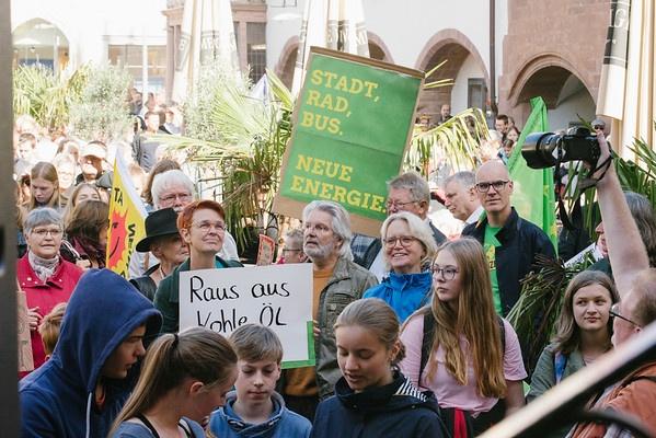 Grüne bei #AllefürsKlima-Demo