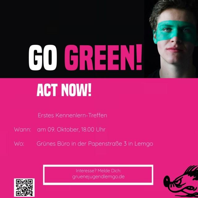 Grüne Jugend Lemgo Kennenlern-Treffen male