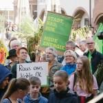 Demo für Klimaschutz in Lemgo — Teilnehmer der Grünen