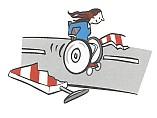 Wege müssen barrierefrei sein.