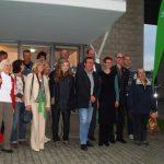 Grüne besuchten zusammen mit Olivr Krischer die Firma Zumtobel