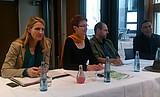 Diskussion mit Andrea Asch im Haus der Vielfalt
