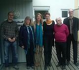 Besuch von Andrea Asch beim Stadtteiltreff Biesterberg