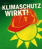 Plakat Klimaschutz wirkt