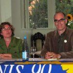Britta Haßelmann und Dr. Burkhard Pohl