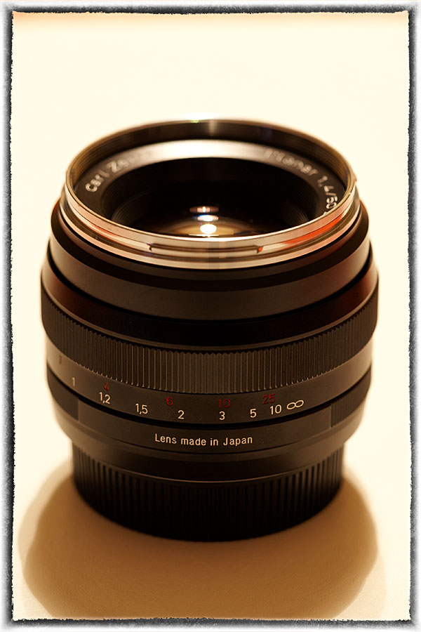 Zeiss Planar T* 1.4/50mm ZE