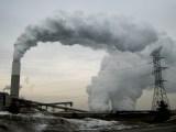 Luftverschmutzung durch ein Kraftwerk