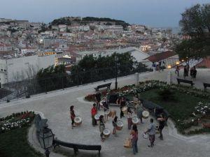 Abendstimmung Lissabon