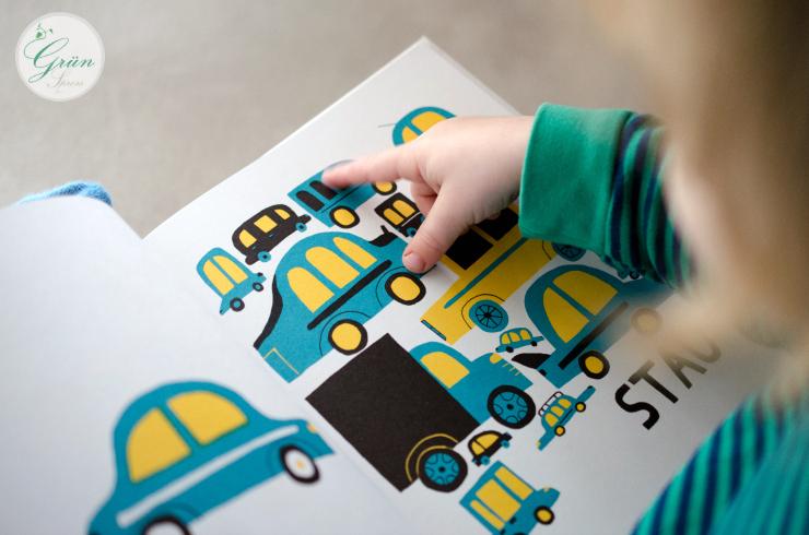 Kinderbuch Autos ab 2 Jahre