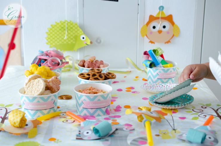Geburtstag Partysnacks Fur Kleinkinder Grunspross